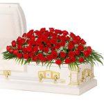 funeral casket spray