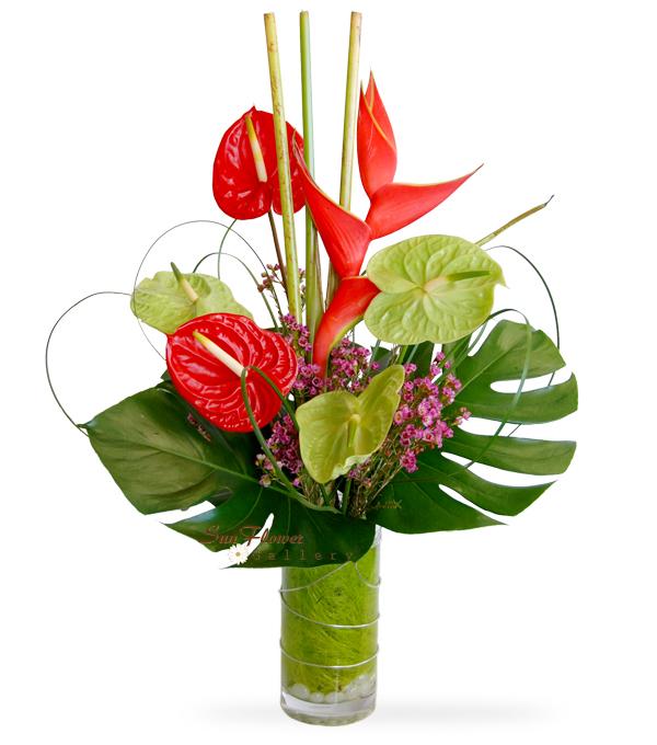sympathy flower bouquet