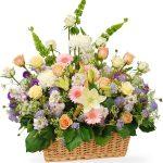 luxury sympathy flower garden