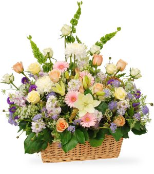 luxury sympathy flower garden