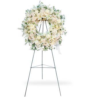 Funeral Flowers Wreath