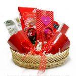 Valentines Coffee Basket